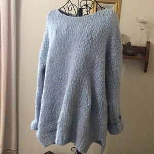 Poly blend  so sooo soft xl 12-14 women blue